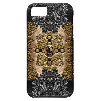 Enghel Reed Baroque Elegant Monogram iPhone 5 Cases