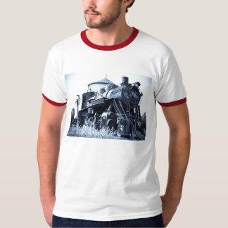 Engine 18 Vintage Locomotive Steam Engine Railroad T-Shirt