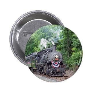Engine 3025 6 cm round badge
