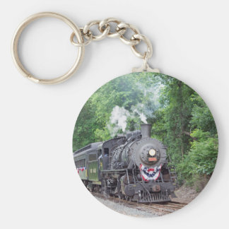 Engine 3025 basic round button key ring