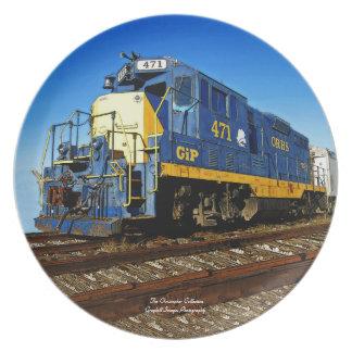 Engine 471 plate