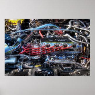 Engine - Car Intestines Posters