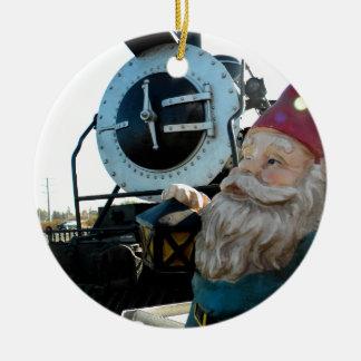 Engine Gnome Christmas Ornaments