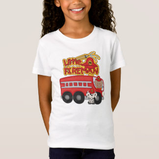 Engine Little Fireman African American Tshirts