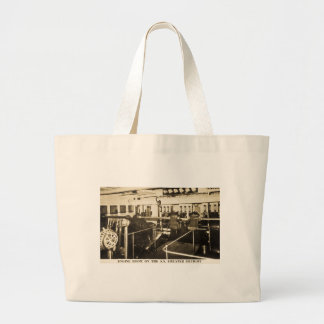 Engine Room on the S.S. Greater Detroit - D&C Line Jumbo Tote Bag