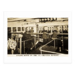 Engine Room on the S.S. Greater Detroit - D&C Line Post Cards
