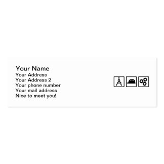 Engineer Architect set Pack Of Skinny Business Cards