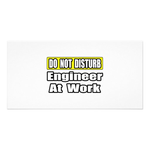 Engineer At Work Photo Cards