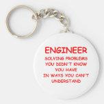 ENGINEER BASIC ROUND BUTTON KEY RING