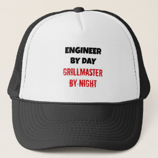 Engineer by Day Grillmaster by Night Trucker Hat