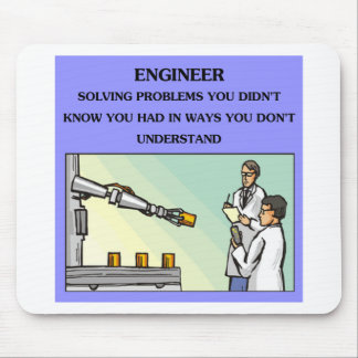 engineer engineering joke mouse mat