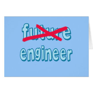 Engineer Graduate Products Greeting Card