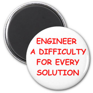 engineer refrigerator magnet