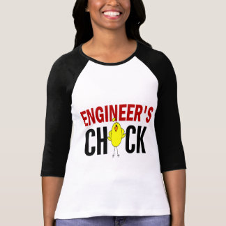 Engineer's Chick T Shirts