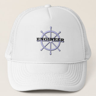 Engineer Ship Wheel Hat