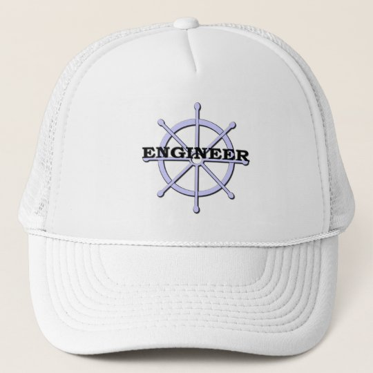 Engineer Ship Wheel Hat