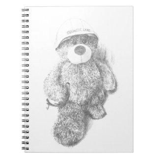 Engineer Teddy Bear Sketch Notebook