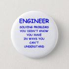 engineering 6 cm round badge