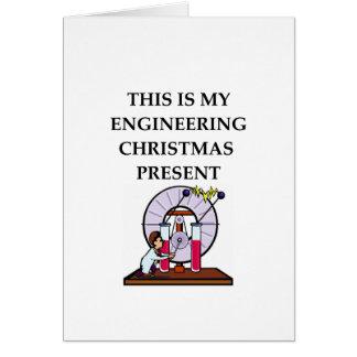 engineering card