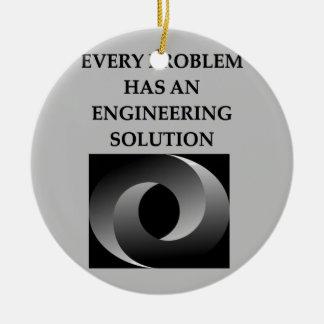 engineering christmas ornament