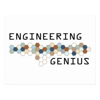 Engineering Genius Postcards
