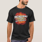 Engineering - It's Like Math But Louder T-Shirt