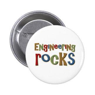 Engineering Rocks Pinback Button