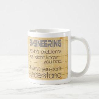 Engineering Solving Problems Coffee Mug