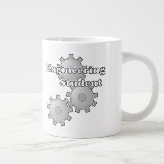 Engineering Student With Gears Large Coffee Mug