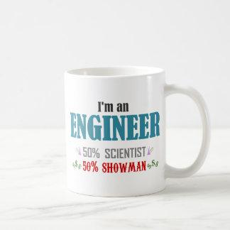Engineer's composition basic white mug