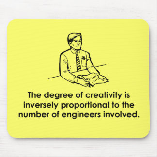 Engineers & Creativity Mouse Pad