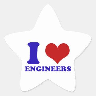 engineers design star sticker