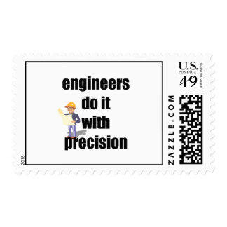 engineers do it with precision stamps
