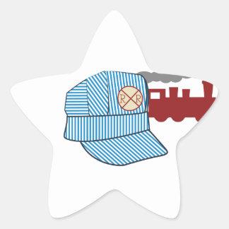 Engineers Hat Star Sticker