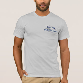 Engineer's Motto - 2 sided T-Shirt