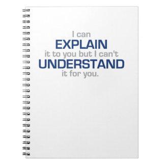 Engineer's Motto - Science Type Stuff Notebooks