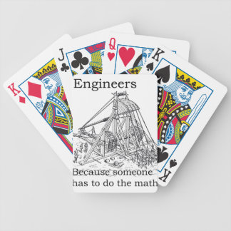 Engineer's Trebuchet Bicycle Playing Cards