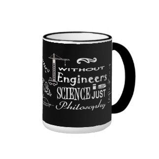 Engineers vs. Science Philosophy Motto Mug