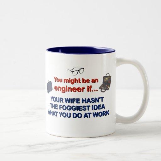Engineer's Wife Coffee Mug