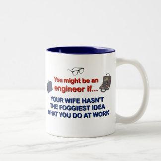 Engineer's Wife Two-Tone Mug