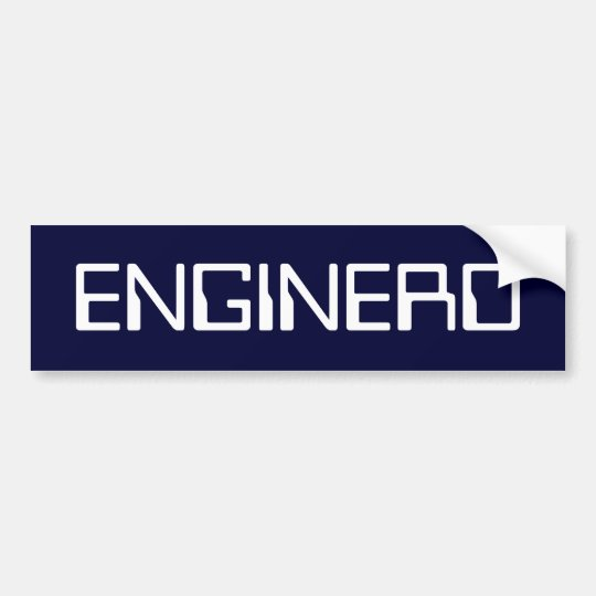 ENGINERD BUMPER STICKER