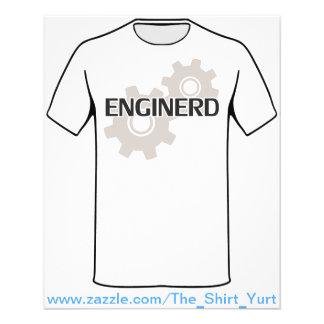 Enginerd Engineer Nerd Flyer Design