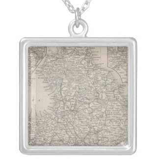 England 10 silver plated necklace