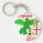 England 2010 key chains