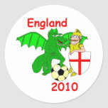 England 2010 stickers