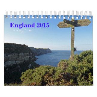 England 2015 Calendar