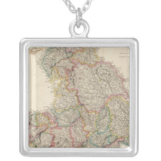 England 3 silver plated necklace