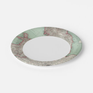 England 5 7 inch paper plate