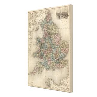 England 5 canvas print