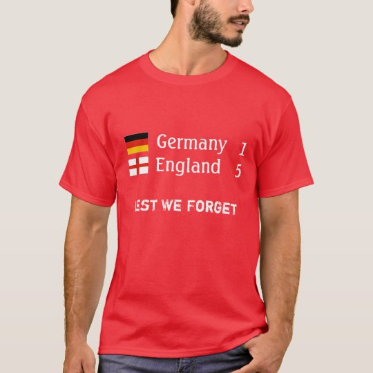 England 5 Germany 1 T-shirt